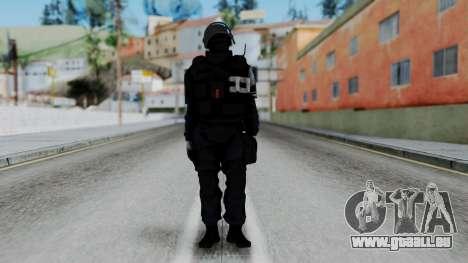 GIGN from Rainbow Six Siege für GTA San Andreas zweiten Screenshot