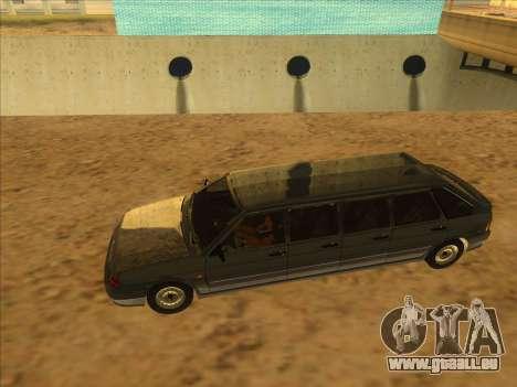 VAZ 2114 9-door pour GTA San Andreas vue de droite