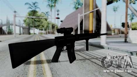 No More Room in Hell - M16A4 ACOG für GTA San Andreas dritten Screenshot