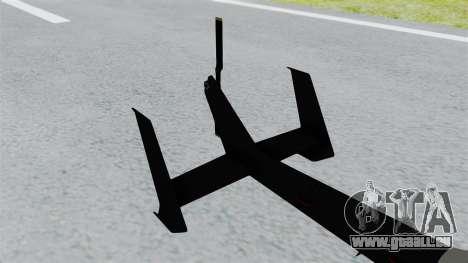 GTA 5 Super Volito Carbon pour GTA San Andreas sur la vue arrière gauche