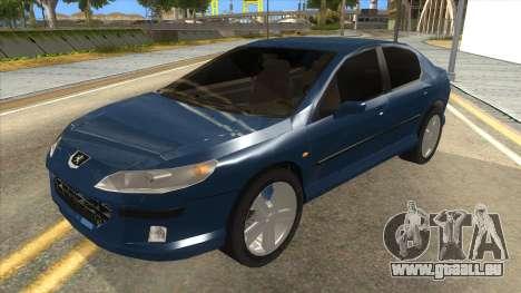 Peugeot 407 pour GTA San Andreas