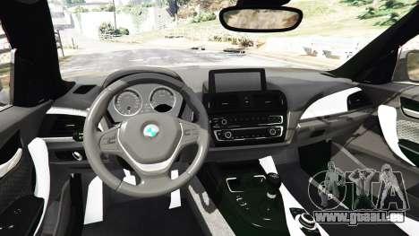GTA 5 BMW M235i Coupe arrière droit vue de côté