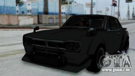 Nissan Skyline 2000GTR Speedhunters Edition pour GTA San Andreas