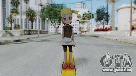 Pokémon XY Series - Bonnie für GTA San Andreas zweiten Screenshot
