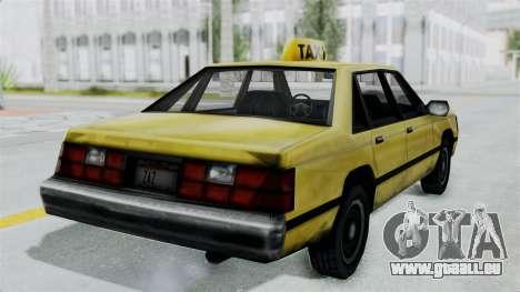 Taxi from GTA Vice City pour GTA San Andreas vue de droite