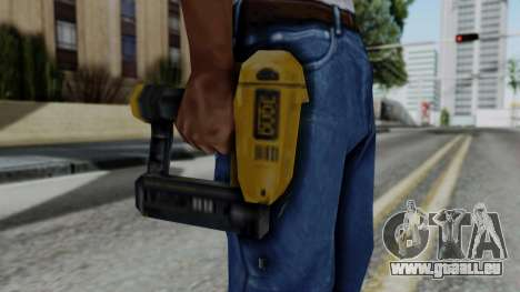 Vice City Beta Nailgun für GTA San Andreas dritten Screenshot