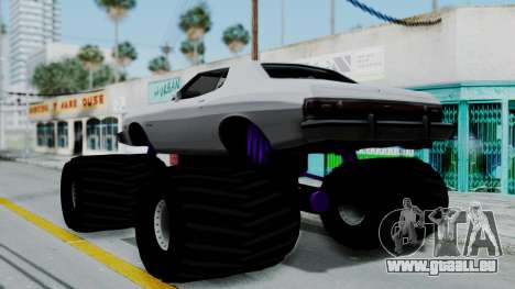 Ford Gran Torino Monster Truck für GTA San Andreas linke Ansicht