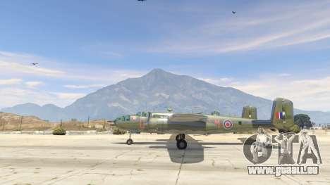 GTA 5 B-25 deuxième capture d'écran