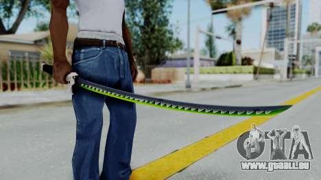 Genji Katana - Overwatch pour GTA San Andreas