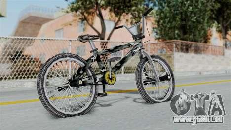 GTA 5 BMX Camo für GTA San Andreas zurück linke Ansicht
