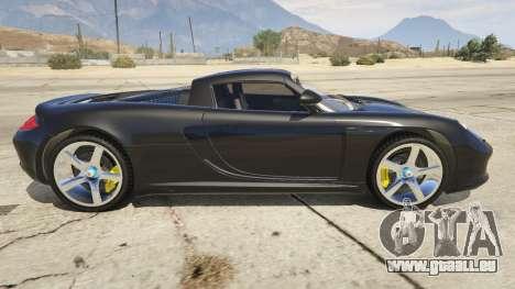 GTA 5 Porsche Carrera GT linke Seitenansicht
