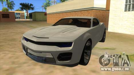 Chevrolet Camaro DOSH tuning MQ für GTA San Andreas