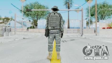 Acu Soldier 7 für GTA San Andreas dritten Screenshot