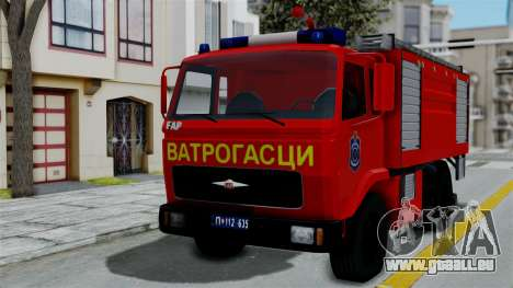 FAP Serbian Fire Truck für GTA San Andreas