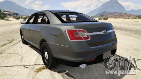 GTA 5 Ford Taurus hinten links Seitenansicht
