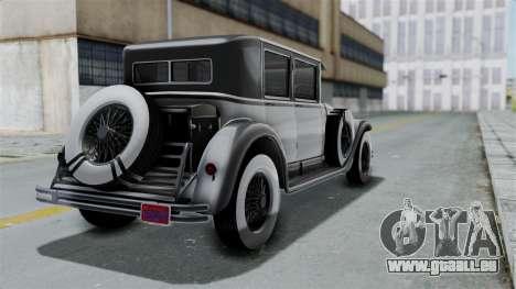 GTA 5 Albany Roosevelt Valor pour GTA San Andreas laissé vue