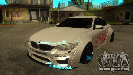 BMW M4 Liberty Walk Performance pour GTA San Andreas