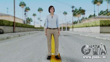 GTA 5 Karen Daniels Civil pour GTA San Andreas deuxième écran