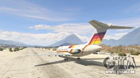 GTA 5 McDonnell Douglas DC-9-15 troisième capture d'écran