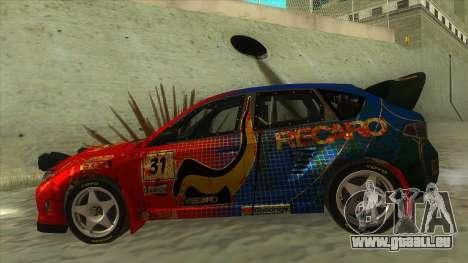 Subaru Impreza WRX STi 2011 ,,Response,, für GTA San Andreas linke Ansicht