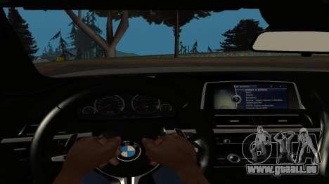 BMW M6 pour GTA San Andreas vue de droite
