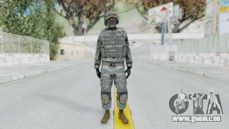 Acu Soldier Balaclava v4 pour GTA San Andreas deuxième écran