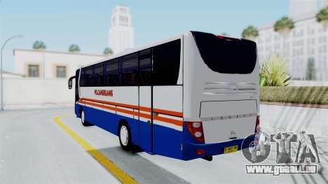 Laksana Legacy Hino AK8 Cangkuang Livery pour GTA San Andreas laissé vue