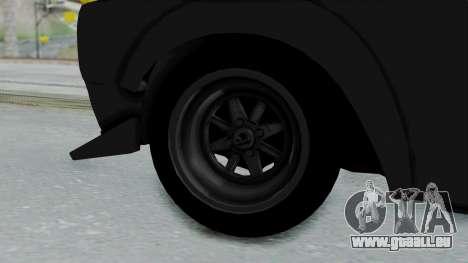 Nissan Skyline 2000GTR Speedhunters Edition pour GTA San Andreas sur la vue arrière gauche