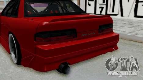 Nissan Silvia S13 Drift pour GTA San Andreas vue arrière