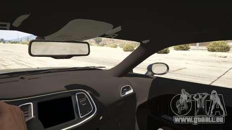 GTA 5 2015 Dodge Challenger arrière droit vue de côté