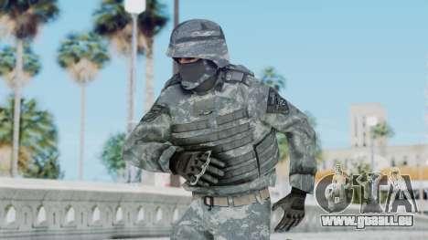 Acu Soldier Balaclava v2 für GTA San Andreas