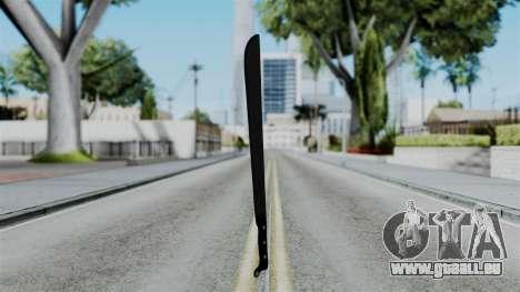 No More Room in Hell - Machete für GTA San Andreas zweiten Screenshot