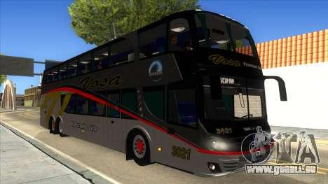Troyano Calixto IV Vosa 3021 pour GTA San Andreas vue intérieure