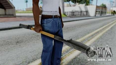 No More Room in Hell - Shovel für GTA San Andreas dritten Screenshot