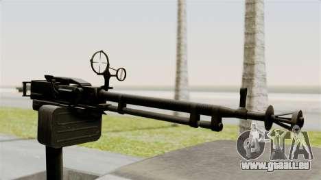 GTA 5 Karin Technical Machinegun pour GTA San Andreas vue de droite