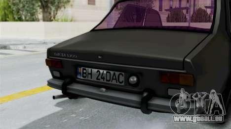 Dacia 1300 Edition[RC] pour GTA San Andreas vue arrière