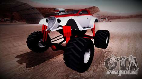 GTA 5 Hotknife Monster Truck für GTA San Andreas