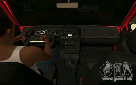 2109 Formation pour GTA San Andreas sur la vue arrière gauche