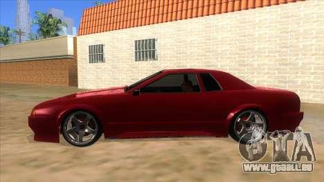 GTR Elegy pour GTA San Andreas laissé vue