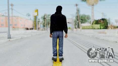 Mafia 2 - Vito Scaletta Renegade Black für GTA San Andreas dritten Screenshot