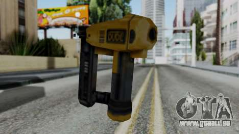 Vice City Beta Nailgun pour GTA San Andreas deuxième écran