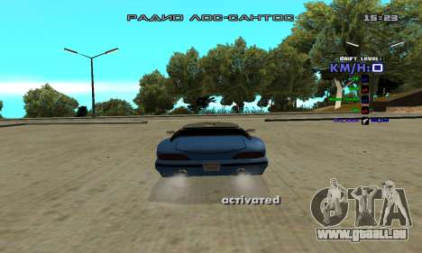 Drift Camera für GTA San Andreas