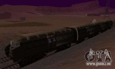 Batman Begins Monorail Train v1 pour GTA San Andreas vue intérieure