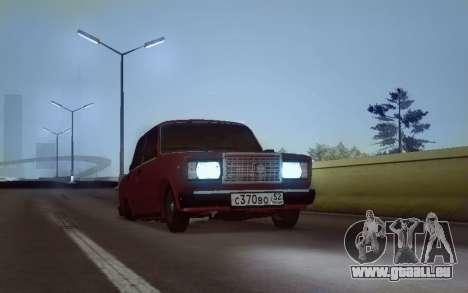 VAZ 2107 NNBPAN pour GTA San Andreas
