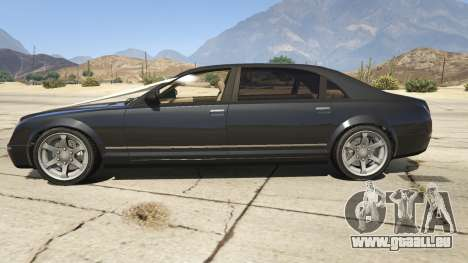 GTA 5 GTA 4 Enus Cognoscenti vue latérale gauche