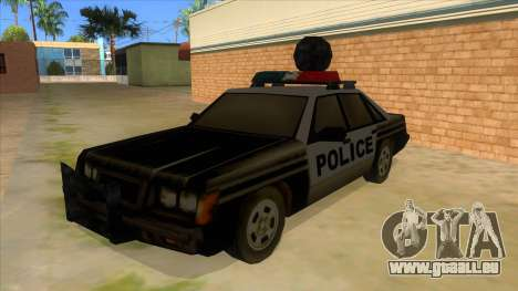 Police Car from Manhunt 2 für GTA San Andreas
