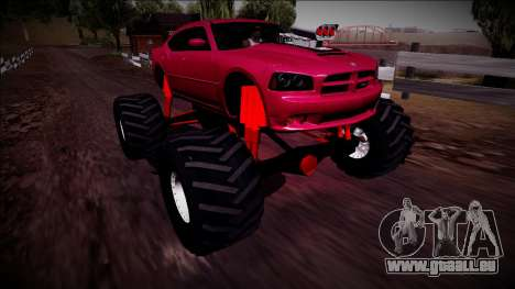 2006 Dodge Charger SRT8 Monster Truck für GTA San Andreas