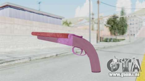 Double Barrel Shotgun Pink Tint (Lowriders CC) für GTA San Andreas dritten Screenshot