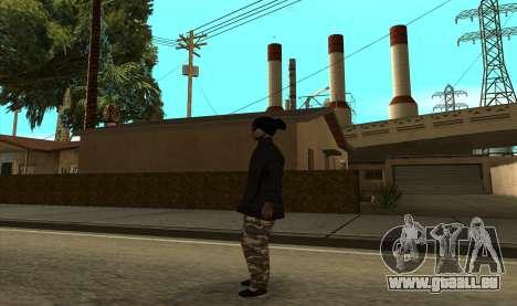 BALLAS3 pour GTA San Andreas deuxième écran
