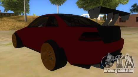 GTA V Sentinel RS MKII pour GTA San Andreas sur la vue arrière gauche